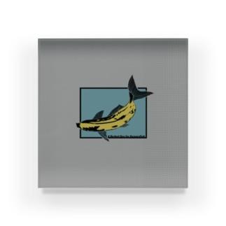 バナナフィッシュにうってつけの日 -a perfectday for BananaFish- Acrylic Block