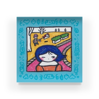 冷たい風 Acrylic Block