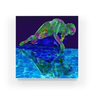 ナルシス Acrylic Block