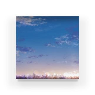 あの日の空は、 Acrylic Block