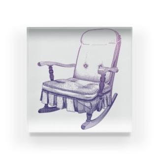 揺り椅子 Acrylic Block
