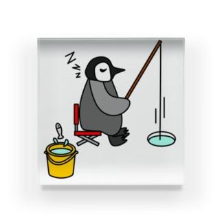 フィッシングペンギン Acrylic Block