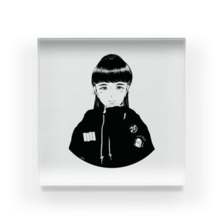 punk girl Acrylic Block