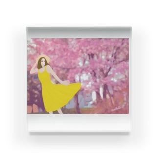 春風 Acrylic Block