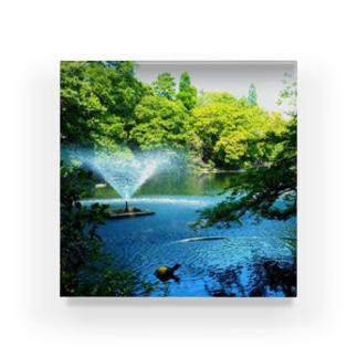 公園 Acrylic Block