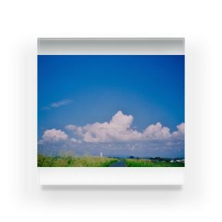 明日から夏休み Acrylic Block