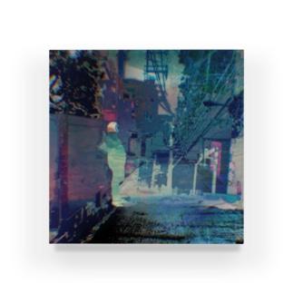 変化 Acrylic Block