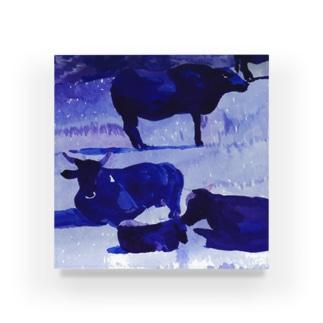 牛さん Acrylic Block