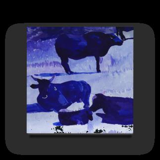 ______アンダーバー______の牛さん Acrylic Block