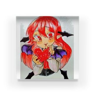 版権東方project小悪魔 Acrylic Block