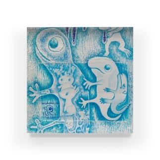 壁らくがき 01 Acrylic Block