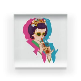タピ姫A Acrylic Block