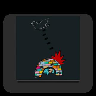 花くまゆうさくのBOMB & PEACE Acrylic Block
