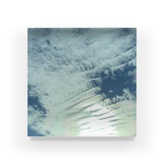 雲 Acrylic Block