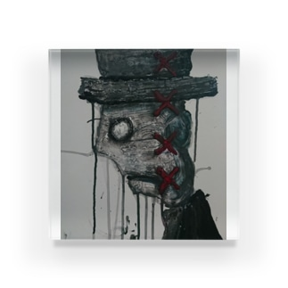 トップハット翁 Acrylic Block