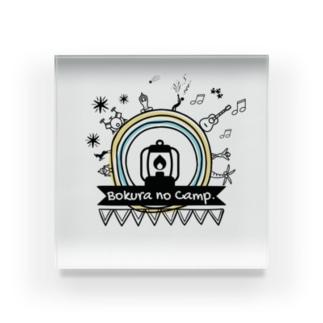 Bokura no Camp.世界は丸い Acrylic Block