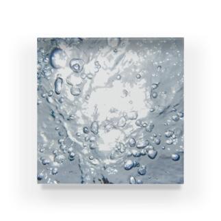 in 炭酸 Acrylic Block