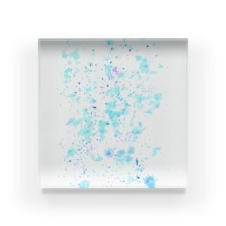 塗れる Acrylic Block