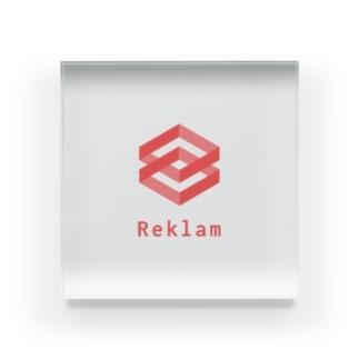 Reklam 公式グッズ Acrylic Block