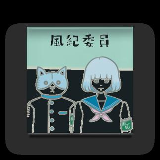 electronicatの風紀委員 Acrylic Block