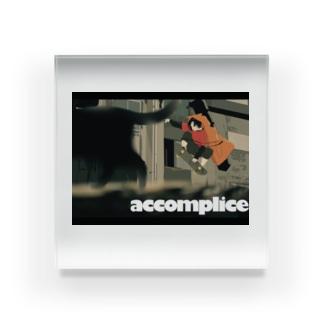 accomplice  Acrylic Block