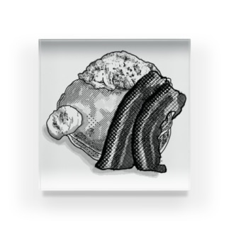 パンケーキの絵 Acrylic Block