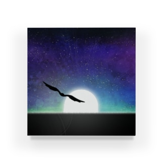 ジェリーゼリーショップ in SUZURIの宇宙を描け Acrylic Block