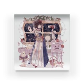 グリム童話とネグリジェ【白雪姫】 Acrylic Block