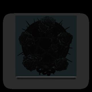 """BLACKINK """" Circle """" seriesのPENTAGRAM - WHITE Acrylic Block"""