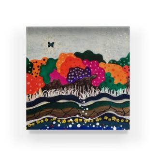 森 Acrylic Block