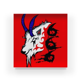 666羊アクリルブロック Acrylic Block