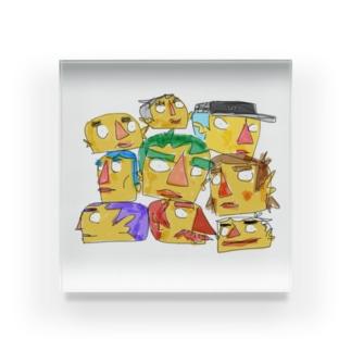HEADZ  Acrylic Block