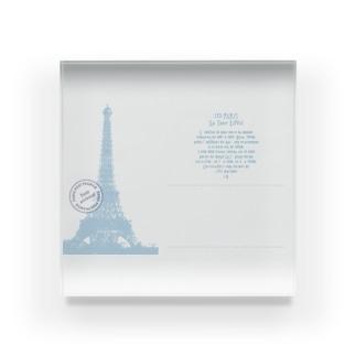 Paris_POSTCARD Acrylic Block