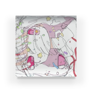 すいぞくかんのフルーツパーラーゴトーコラボ Acrylic Block