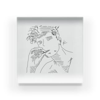 Rakugakist smoke??? Acrylic Block