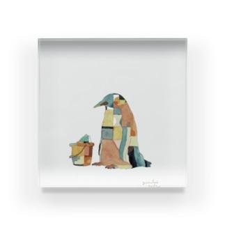 ペンギンアクリルブロック Acrylic Block