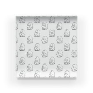 エンドレスくまうさ(白) Acrylic Block
