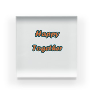 Happy Together Acrylic Block