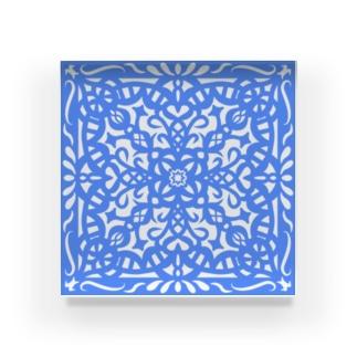 文様2 Acrylic Block