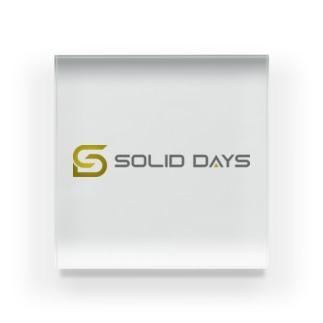SOLID DAYS グッズショップのSOLID DAYS 2020 Acrylic Block