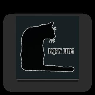 猫と釣り人のCAT_21_1KW Acrylic Block