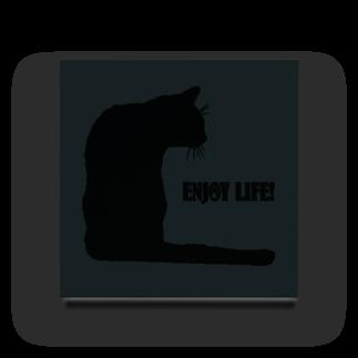猫と釣り人のAcrylic Block