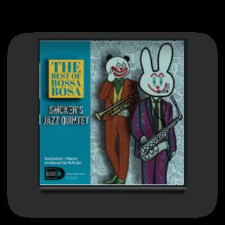 N,N,&nのN,N,&n  Smoker's Jazz Quintet アルバムアート Acrylic Block