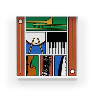 楽器 Acrylic Block