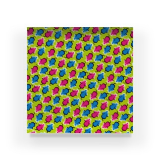 ネズミの逃走【錯視】 Acrylic Block