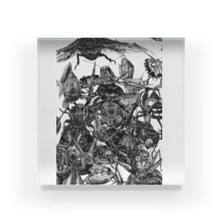 『十蟲十色』 Acrylic Block