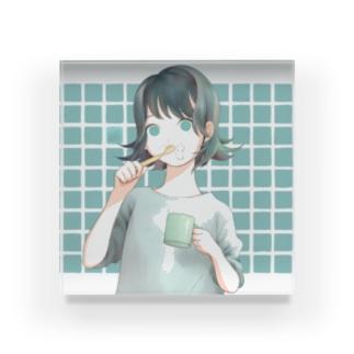歯磨き Acrylic Block