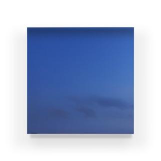 夜の青空0018 Acrylic Block
