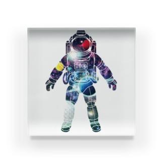 夢見る宇宙服-プラネット Acrylic Block