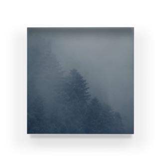 霧の中 Acrylic Block